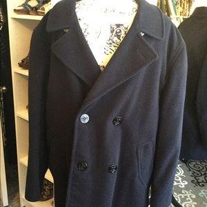 Vintage Brooks Brothers Pea Coat 1940's